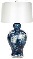Barclay Butera For Bradburn Home Payton Table Lamp - Navy/White Swirl