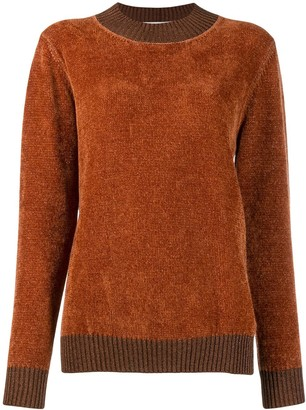 Fabiana Filippi long-sleeve fitted sweater