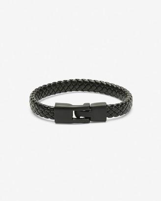 Express Black Braided Bracelet