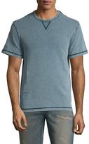 Faherty Cotton Short Sleeve Sweatshirt