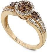 LeVian Le Vian Women's Le Vian Chocolatier® 14K Yellow Gold & Diamond Ring