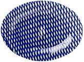 Vietri Net & Stripe Net Medium Oval Platter