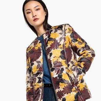 La Redoute Collections Lightweight Printed Padded Jacket