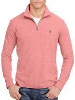 Polo Ralph Lauren Cotton-Blend Half-Zip Pullover