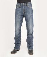 Stetson Blue Stone Wash Relaxed Jeans - Men's Regular