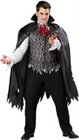 InCharacter Costumes Men's Plus Size Vampire B Slayed Costume