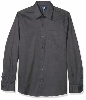 Cutter & Buck Men's Long Sleeve Tailored Fit Spread Nails Head