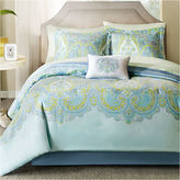 JCPenney Madison Park Carly 7-pc. Twin Complete Bedding Set with Sheets