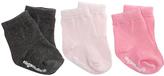Elegant Baby Black & Pink Sock Set - Infant