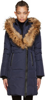 Mackage Navy Down Kay Coat