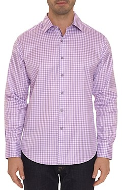 Robert Graham Coffee Bay Egyptian Cotton Classic Fit Shirt