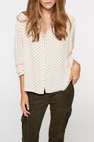 Sanctuary Dot Blouse