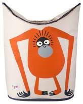 3 Sprouts Canvas Storage Hamper - Orangutan