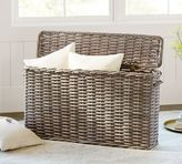 Pottery Barn Aubrey Woven Oversized Lidded Basket