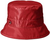 San Diego Hat Company Women's Nylon Rain Bucket Hat with Functional Closure