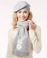 Charter Club Embellished 2-Pc. Scarf & Hat Gift Set, Only at Macy's