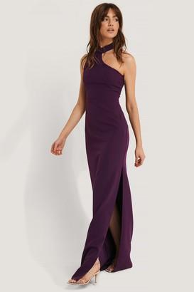 Trendyol Neck Detail Maxi Dress