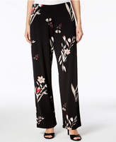 Alfani Printed Wide-Leg Pants, Created for Macy's
