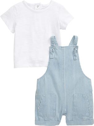Little Me T-Shirt & Romper Set