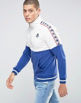 Kappa Track Jacket With Contrast Panels
