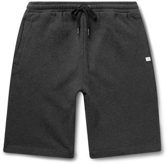 Derek Rose Devon Slim-Fit Brushed Loopback Cotton-Jersey Shorts