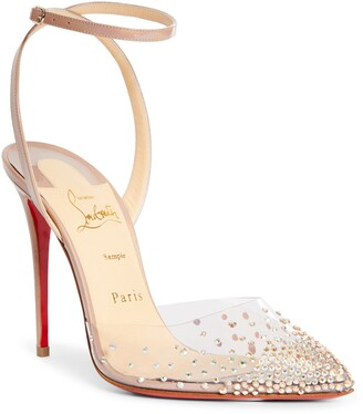 Christian Louboutin Spikaqueen Crystal Pump