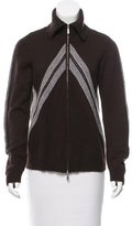 Malo Zip-Up Cashmere Sweater