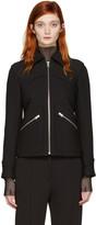 MM6 MAISON MARGIELA Black Zip-up Jacket