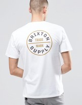 Brixton T-Shirt With Back Logo