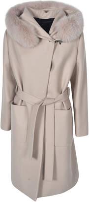 Fay Fur Detail Coat