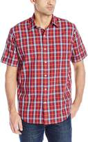 Arrow Men's Short Sleeve Sea Jack Textures Shirt
