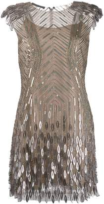 Alberta Ferretti sequin embellished dress