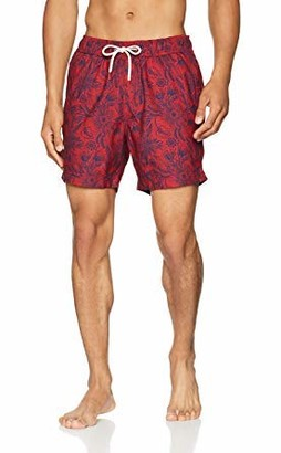 Fat Face Men's Floral Poly Print Shorts