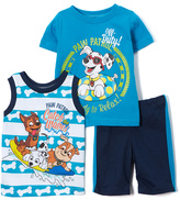 Children's Apparel Network PAW Patrol Blue Tee Set - Toddler