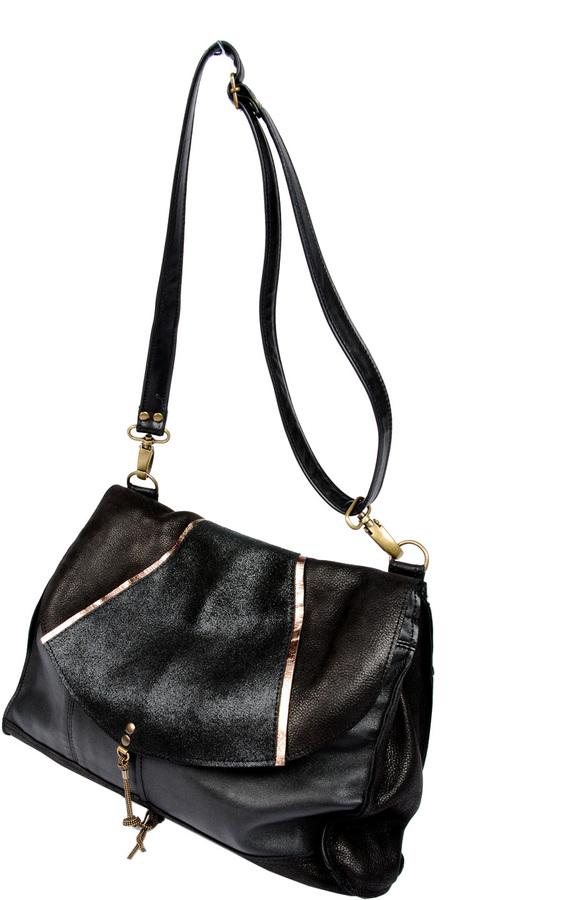Matieres A Reflexion Art Deco Shoulder Bag