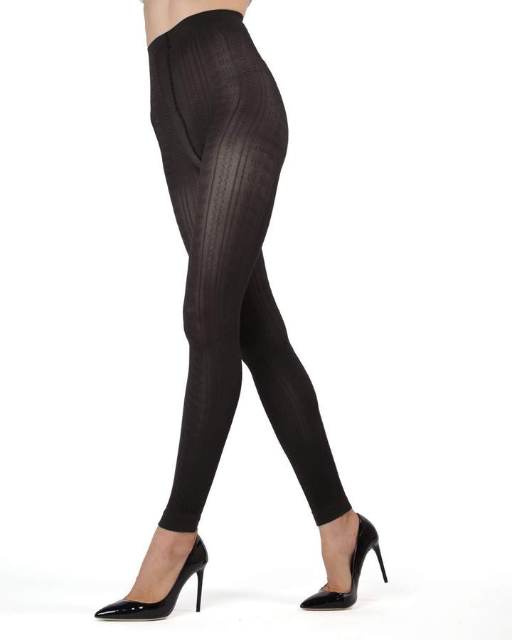 ba000230b Black Footless Tights - ShopStyle Canada