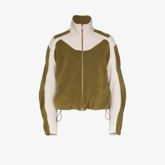 Gmbh GmbH Ecran contrast fleece jacket