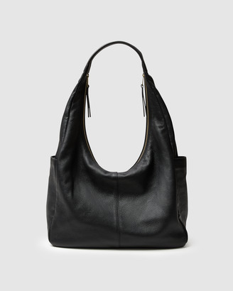 Kinnon - Women's Black Leather bags - Amelia Travel + Weekender Bag - Size One Size at The Iconic
