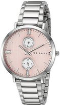 Ted Baker Women's 10024715 Dress Sport Analog Display Japanese Quartz Silver Watch