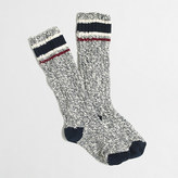 J.Crew Factory Placed-stripe camp socks