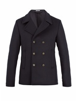 Tomas Maier Double-breasted wool-blend pea coat