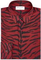 Saint Laurent Silk Long-Sleeved Shirt