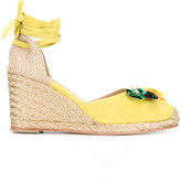 Castaner Carina wedges - women - Leather/Suede - 40
