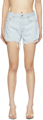 GRLFRND Blue Denim Helena Shorts