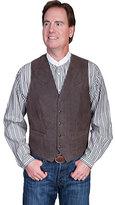 Scully Men's Lambskin Button Front Vest 503-63