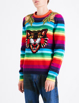 Gucci Angry Cat wool jumper