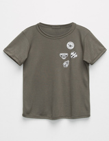 Full Tilt Faux Patch Girls Tee