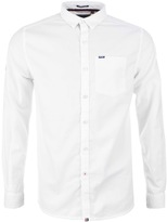 Superdry Academy Oxford Shirt White