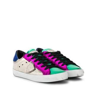 Philippe Model Kids colour block sneakers