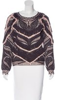Herve Leger Everly Fringe Top w/ Tags